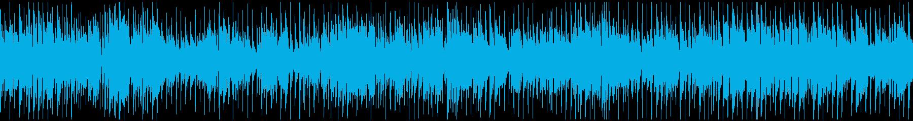 ノリノリサックスのクラブジャズ※ループ版の再生済みの波形