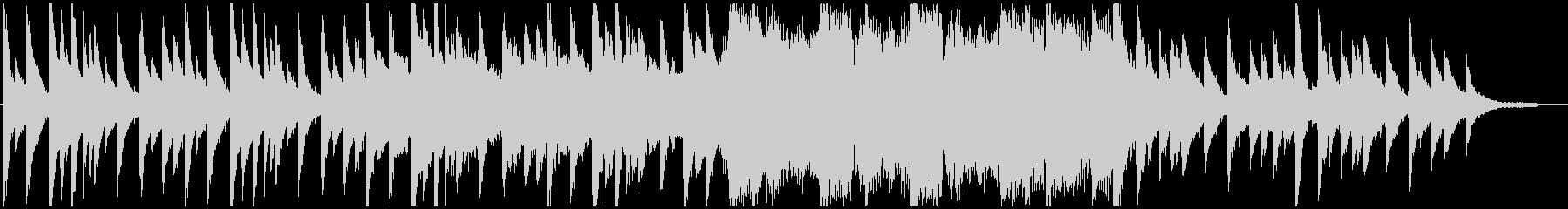 未知との遭遇をイメージしたBGMの未再生の波形