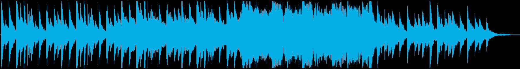 未知との遭遇をイメージしたBGMの再生済みの波形