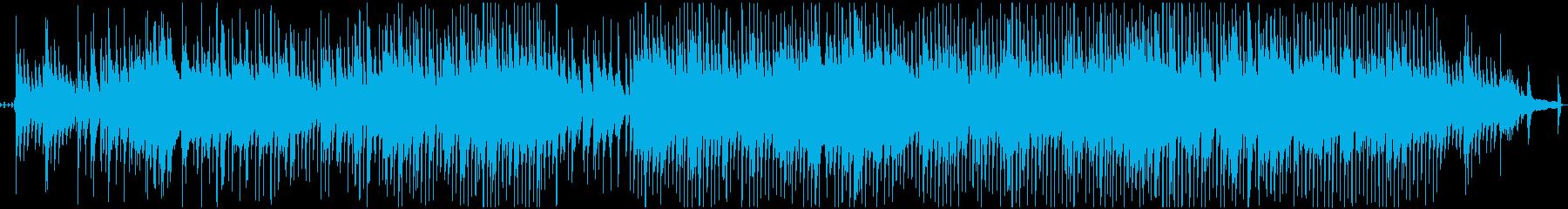 聖なる夜のピアノスロージャズの再生済みの波形