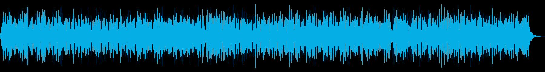 日常のBGMにぴったりな楽曲の再生済みの波形