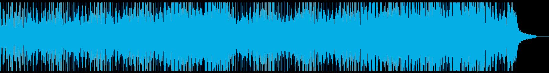 ほのぼのした日常風景。軽い曲。の再生済みの波形