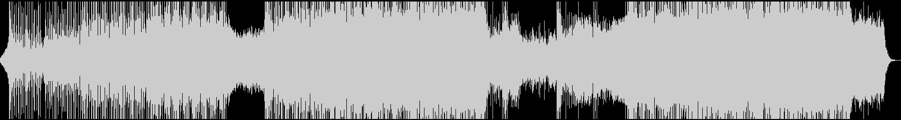 クール・カッコイイ系トランスEDMの未再生の波形