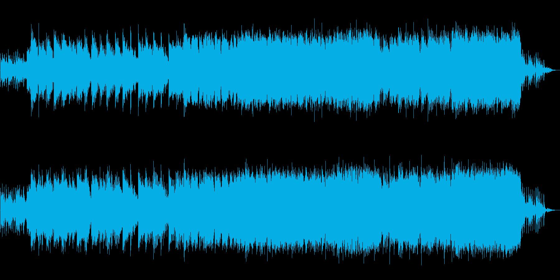 和風 しっとりやさしいバラード篠笛生演奏の再生済みの波形