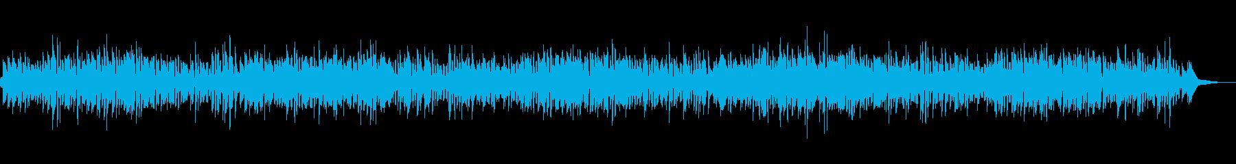 爽やかオープニングボサノバの再生済みの波形