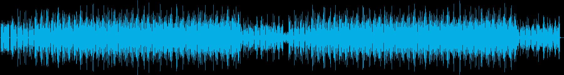 指示・説明などのブリーフィング場面の再生済みの波形