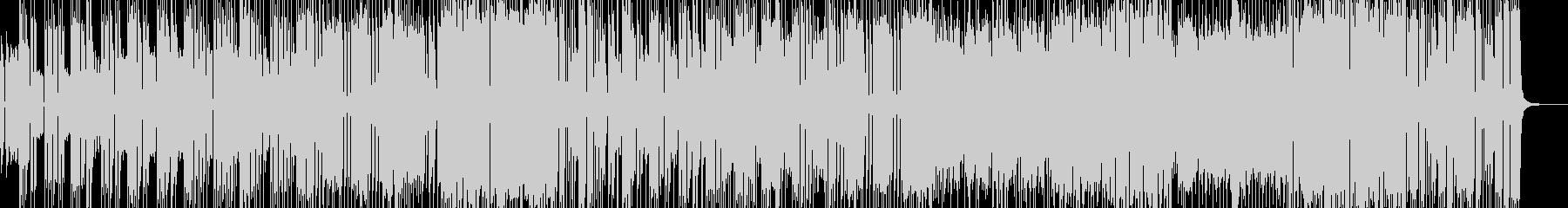 シンセ際立つ洋楽風4ピースロック Bの未再生の波形