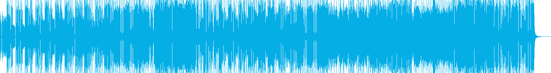 シンセ際立つ洋楽風4ピースロック Bの再生済みの波形