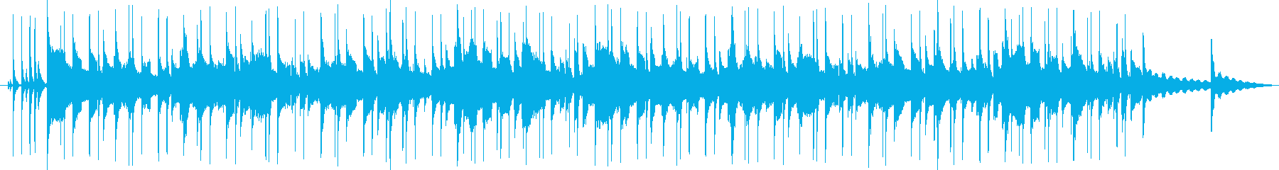 【店舗BGM】サタデーモーニングの再生済みの波形