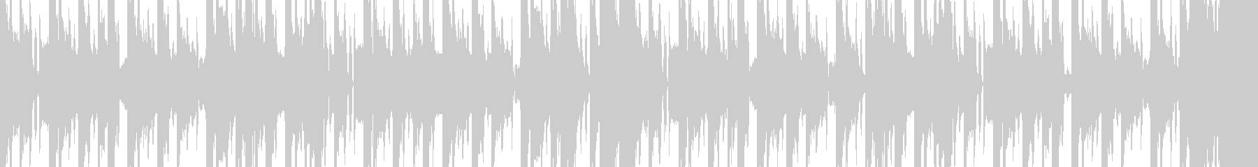 カオスなシンセビートの未再生の波形