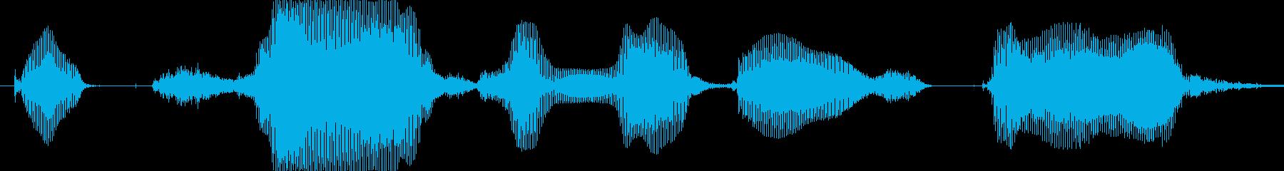 ごちそうさまでした…の再生済みの波形
