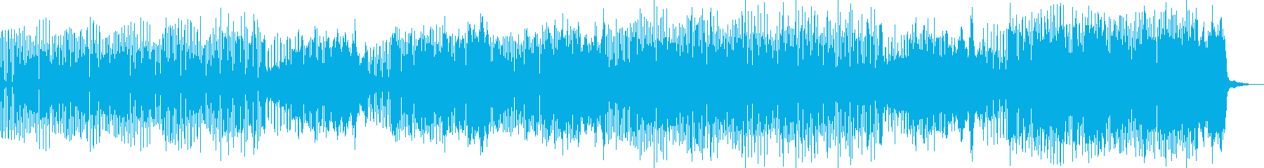 不気味可愛いハロウィン調 ドラム無 Cの再生済みの波形