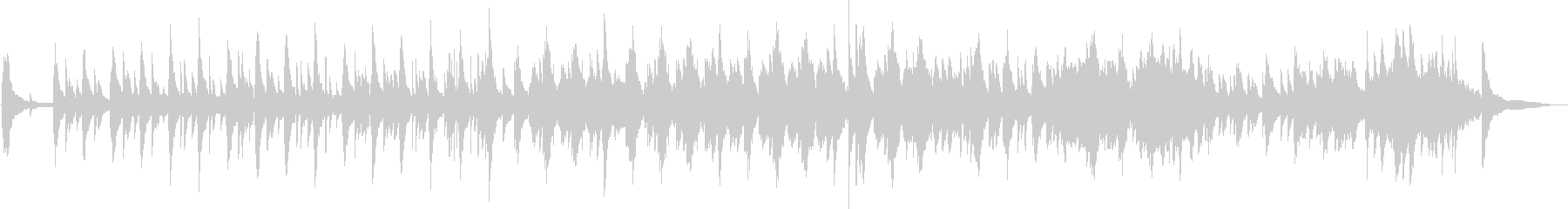 Piano フルート 癒し系 ヒーリングの未再生の波形