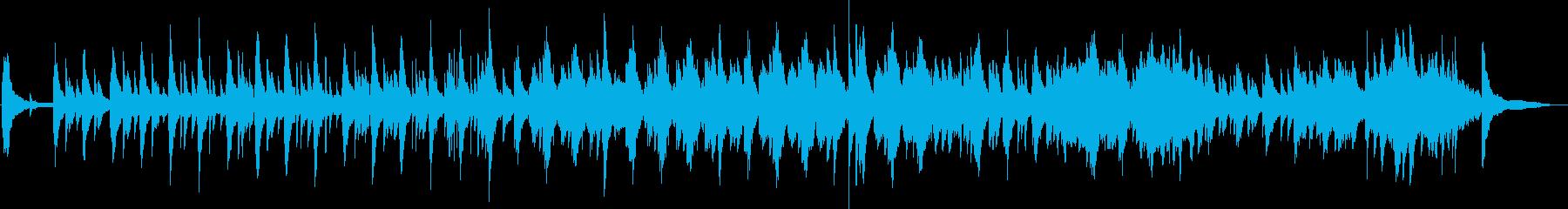 Piano フルート 癒し系 ヒーリングの再生済みの波形