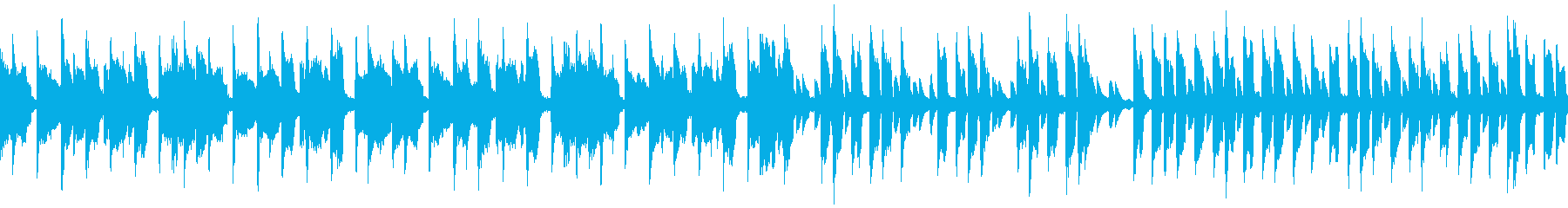 【Dr抜】可愛さとアングラのHIPHOPの再生済みの波形