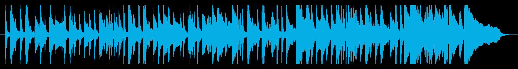 古風で儚げなピアノソロの再生済みの波形