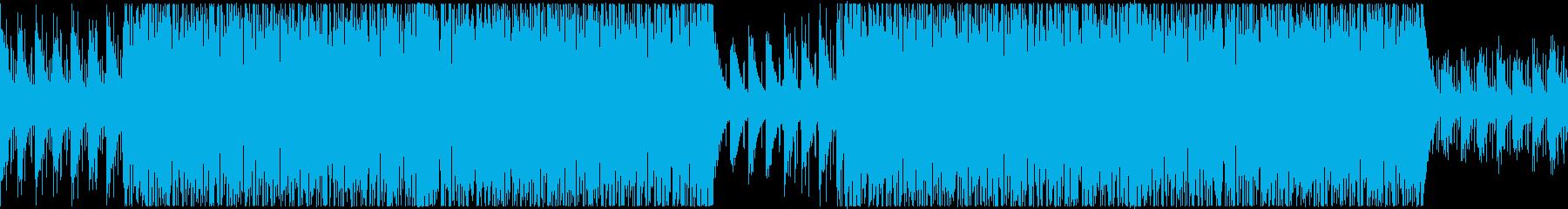 【メロなし、ループ】明るく切ないEDMの再生済みの波形
