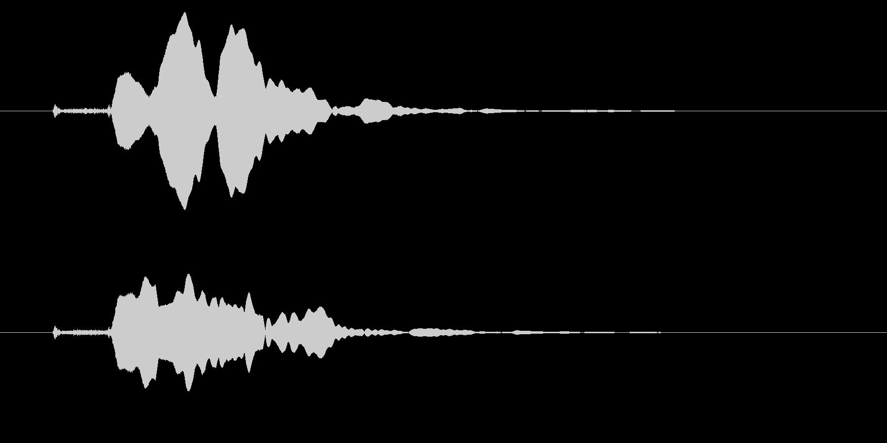 改札 ビープ音01-10(音色1 遠)の未再生の波形