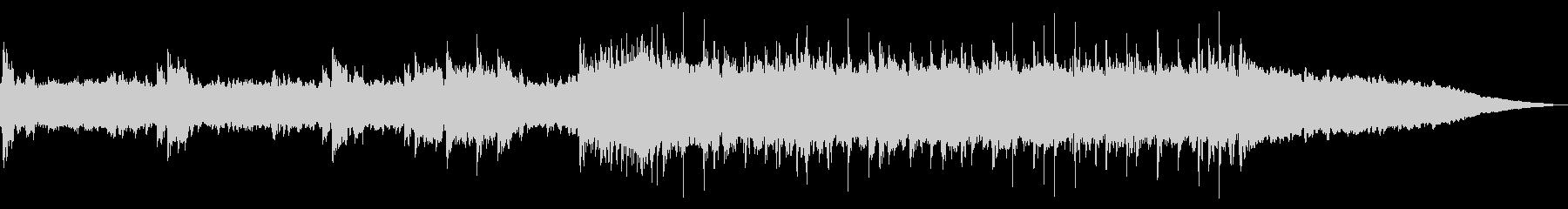 往年のハードロック(短いVer)の未再生の波形