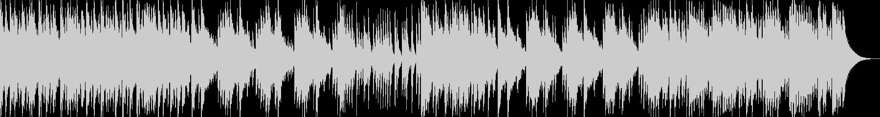 日本伝統音楽4(三味線+和太鼓)の未再生の波形