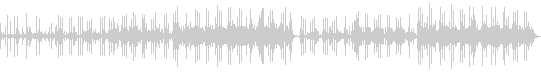 サビのメロディーが印象的なミドルテンポ曲の未再生の波形