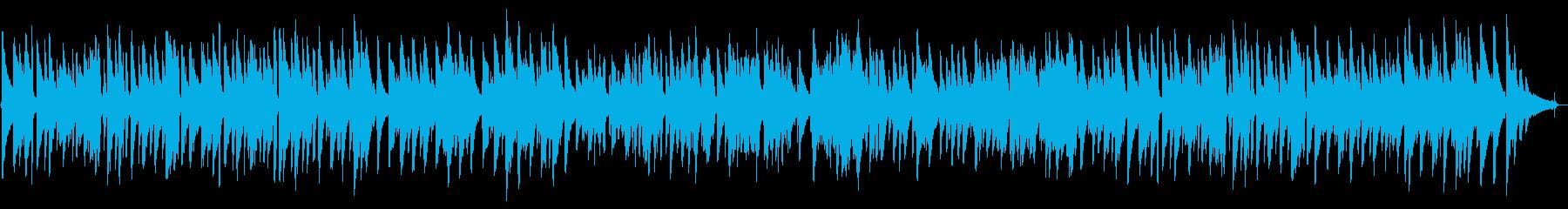 ゆったりした3拍子のジャズトリオの再生済みの波形