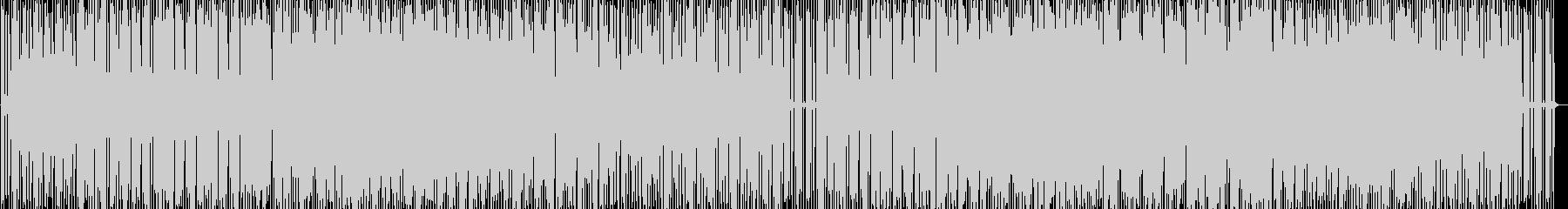 コマーシャル用の音楽の未再生の波形