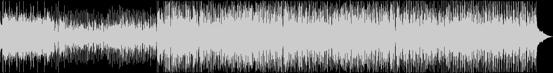 ゆったりしたおしゃれなボサノバBGMの未再生の波形