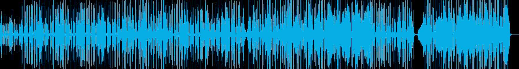 脱力系でファンキーなヒップホップ Bの再生済みの波形