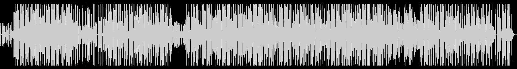 歪んだ質感のシンセ・エモ・ヒップホップの未再生の波形