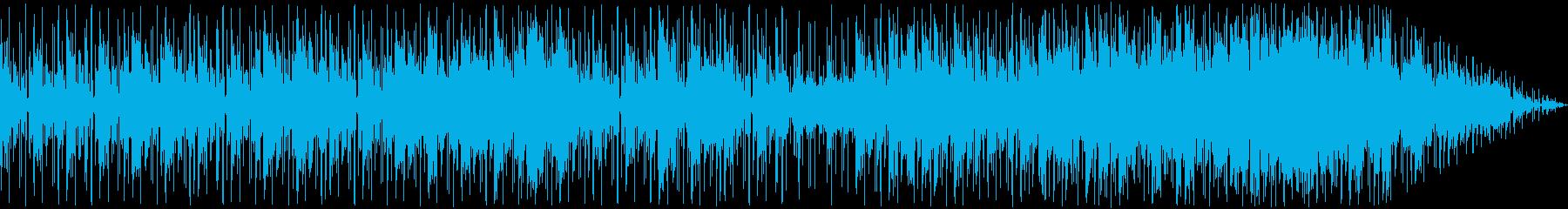 ハッピー、ポジティブ、無言の声、中...の再生済みの波形
