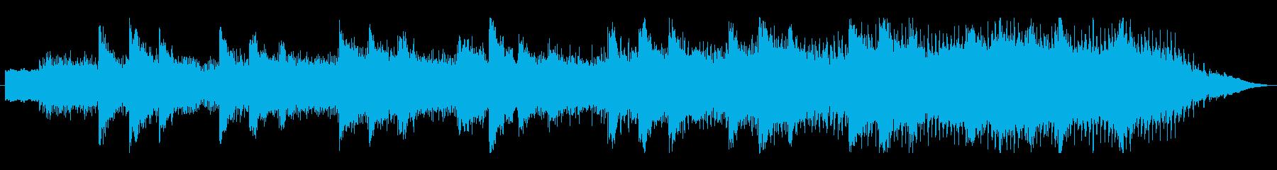 幻想的なしらべ自然が見えるBGMの再生済みの波形