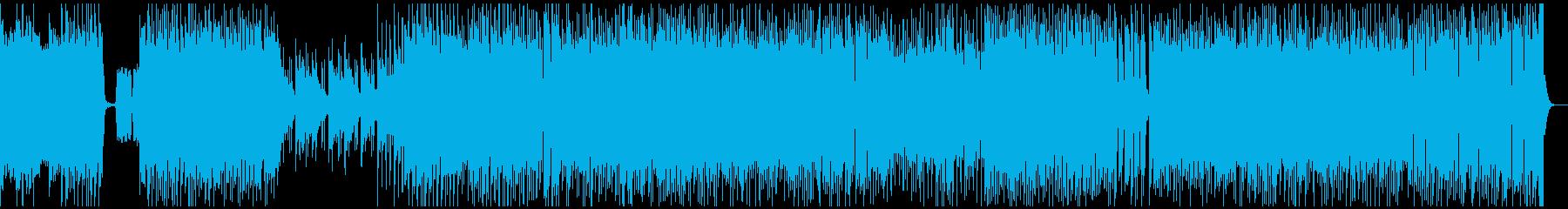 ピアノが印象的な卒業ロックソングの再生済みの波形