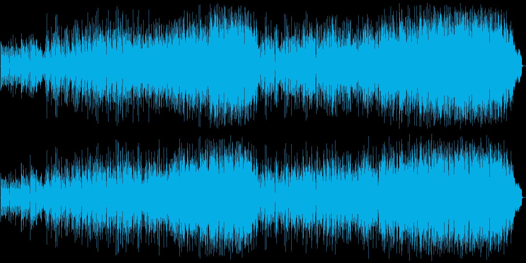 生アコギ+バンド爽やかな季節感の再生済みの波形
