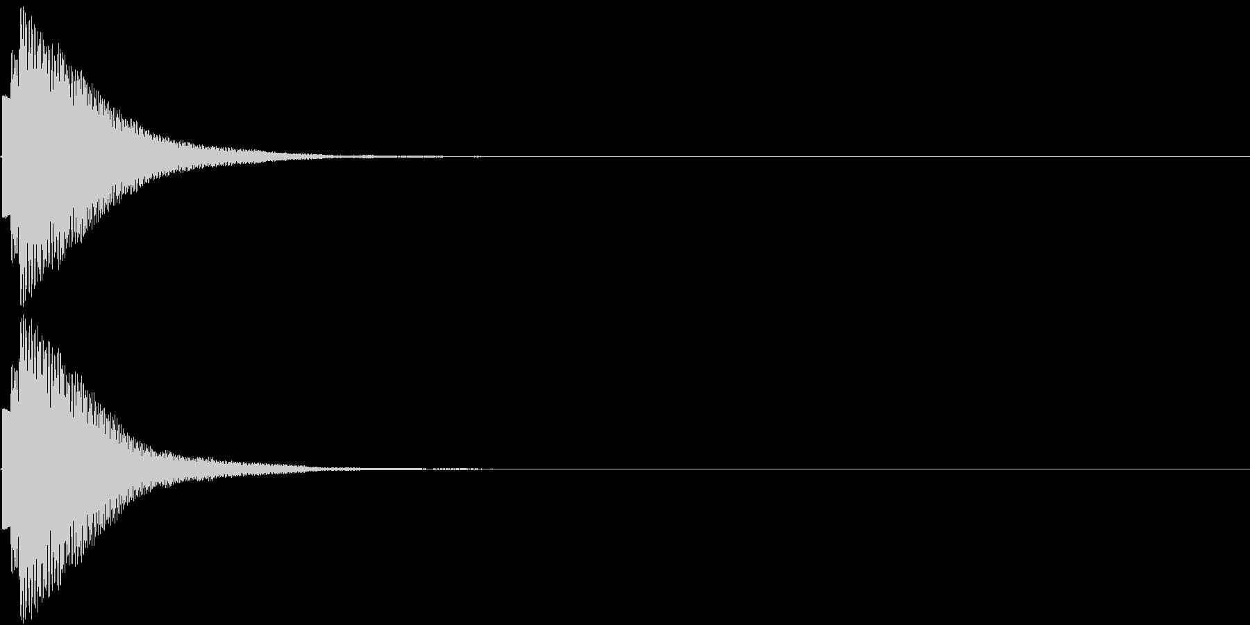 ひらめき 獲得 ゲット 入手 キラリン3の未再生の波形