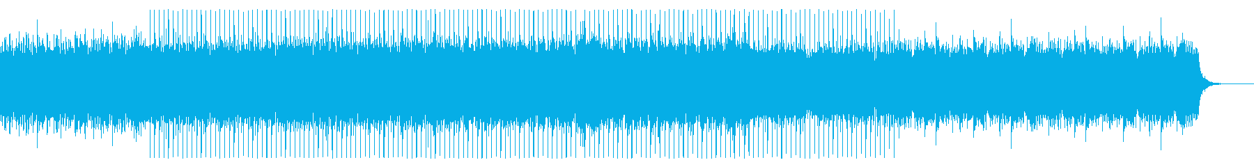 さわやかなピアノが特徴のテクノ系サウンドの再生済みの波形