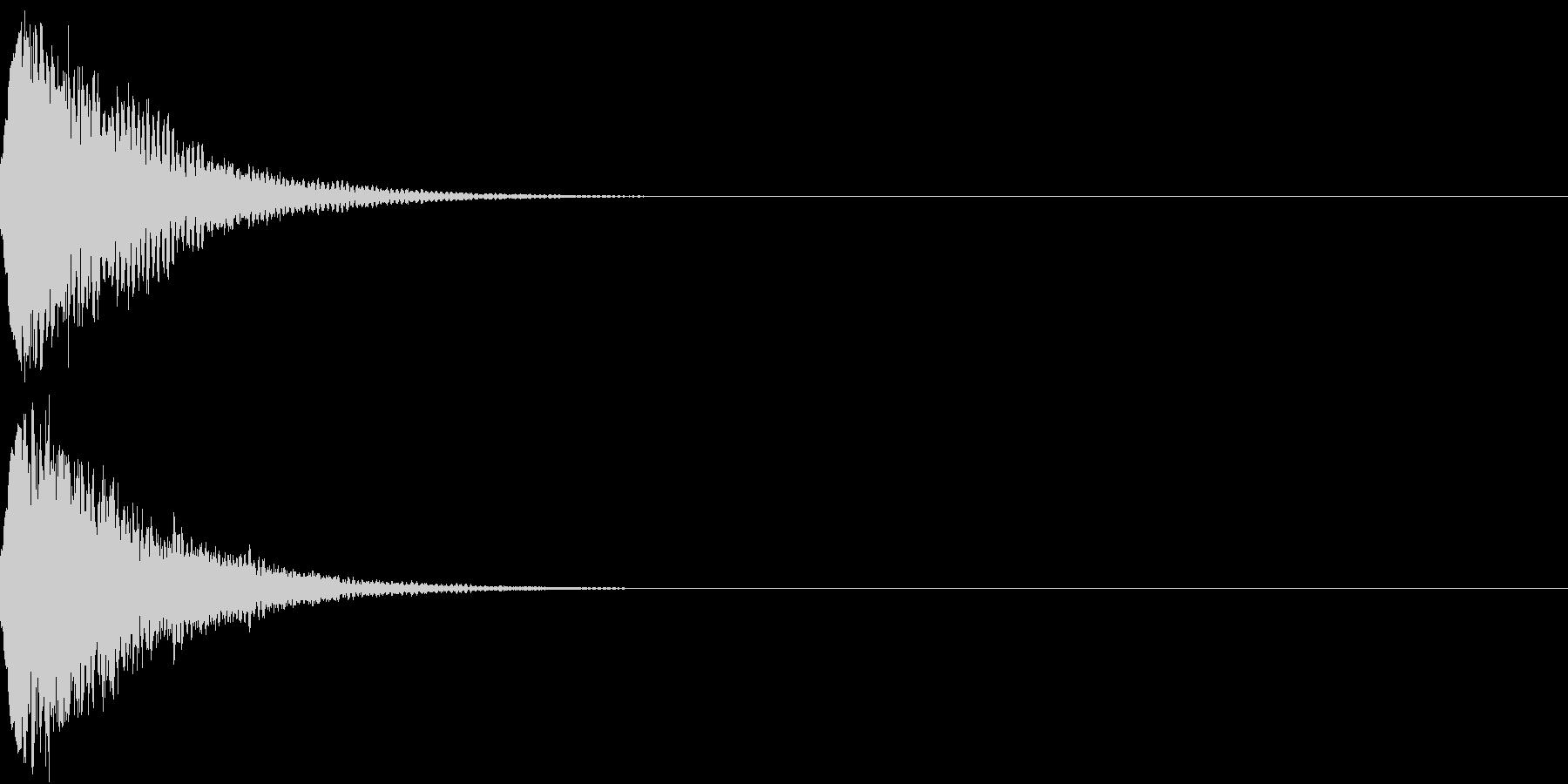 光る キュイーン ピカーン キラン 07の未再生の波形