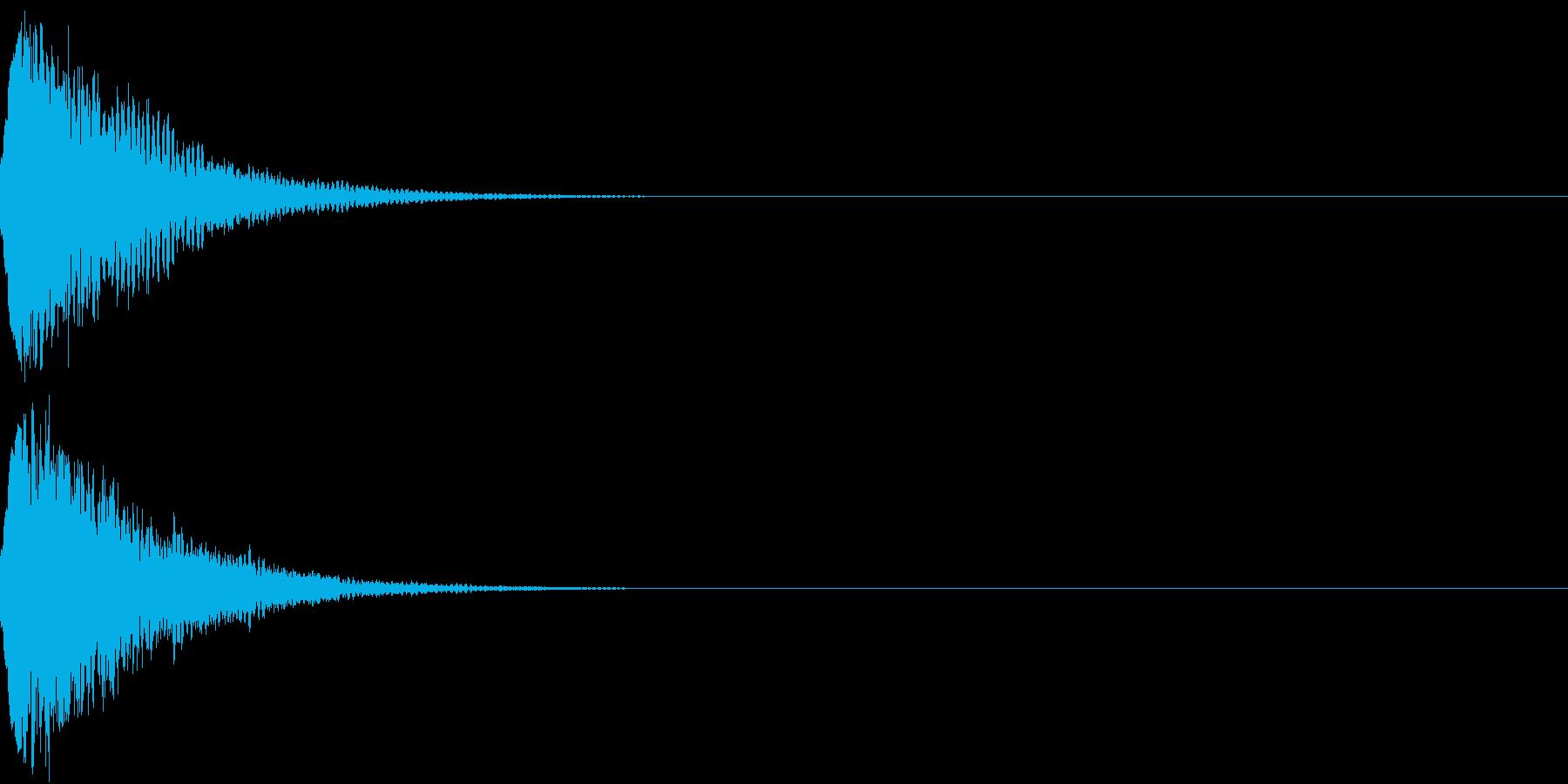 光る キュイーン ピカーン キラン 07の再生済みの波形