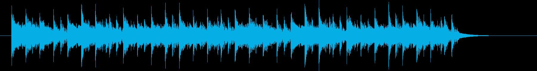 ほのぼのとした童謡風のポップス SH版の再生済みの波形