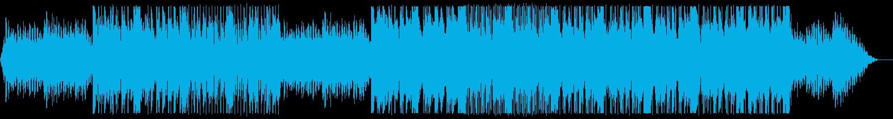 Lo-Fiなエレピが印象の曲の再生済みの波形