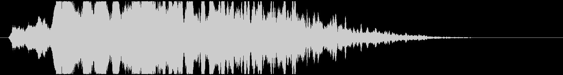 ミステリアス・不穏・透明感のある音の未再生の波形