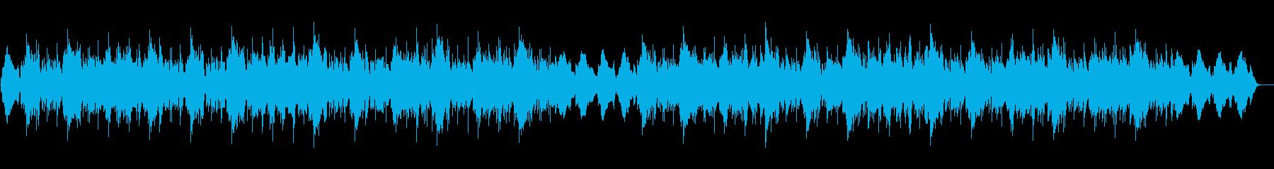ヒーリング ハープ 瞑想 ヨガの再生済みの波形