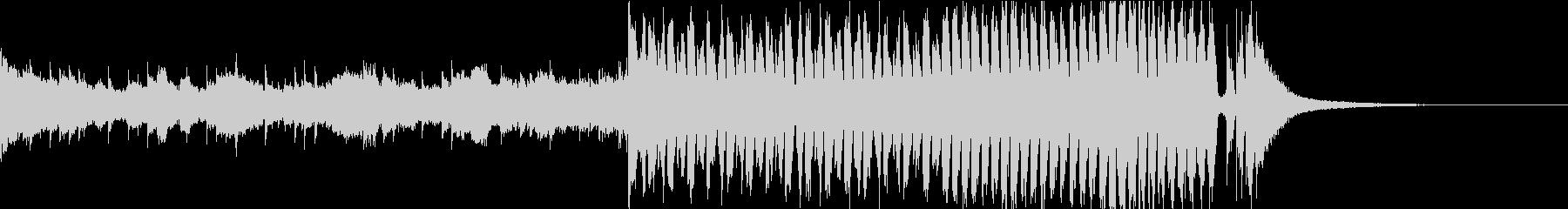 感動的・明るいFuture Bass cの未再生の波形
