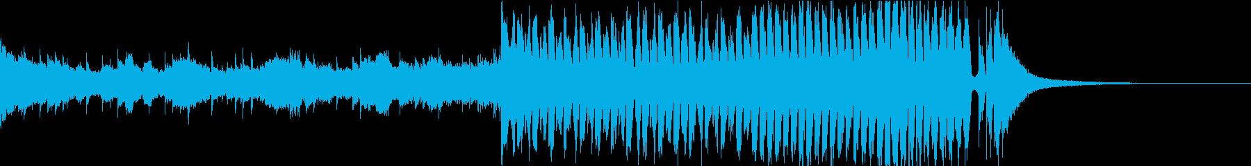 感動的・明るいFuture Bass cの再生済みの波形
