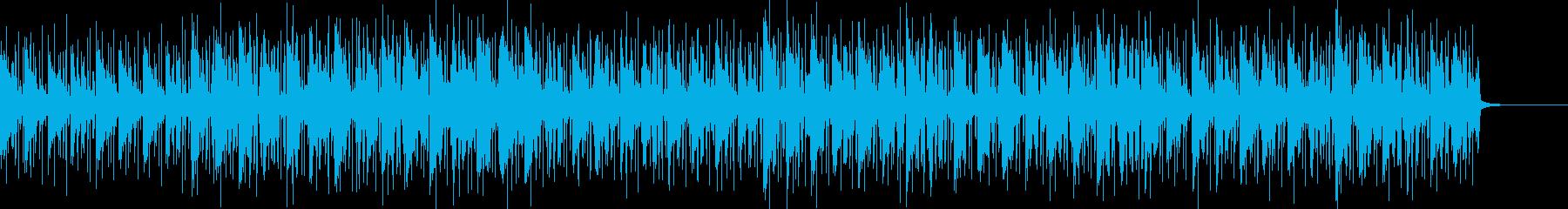 8ビートで刻む軽快なシンセポップスの再生済みの波形