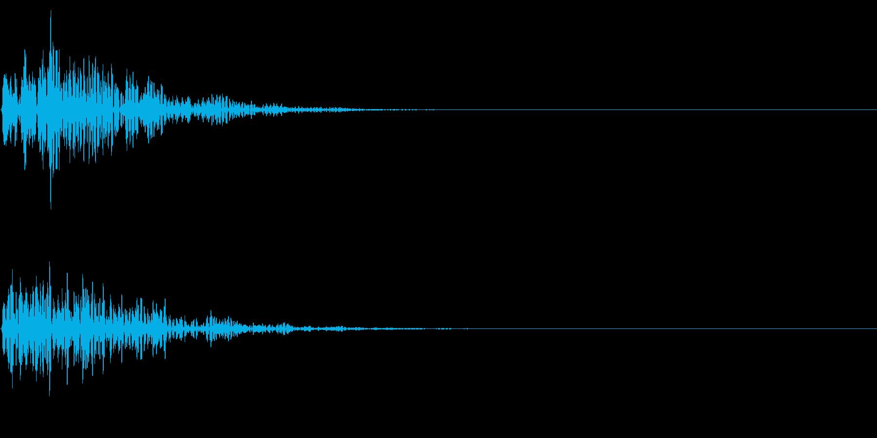重いドーンの再生済みの波形