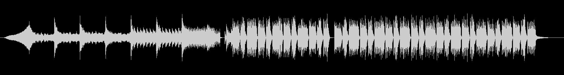 シンプルFutureBassの未再生の波形