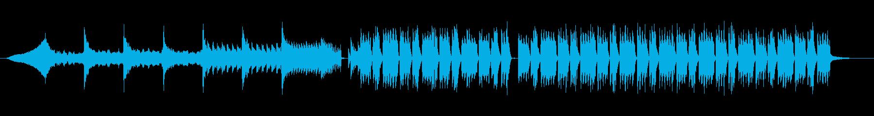 シンプルFutureBassの再生済みの波形