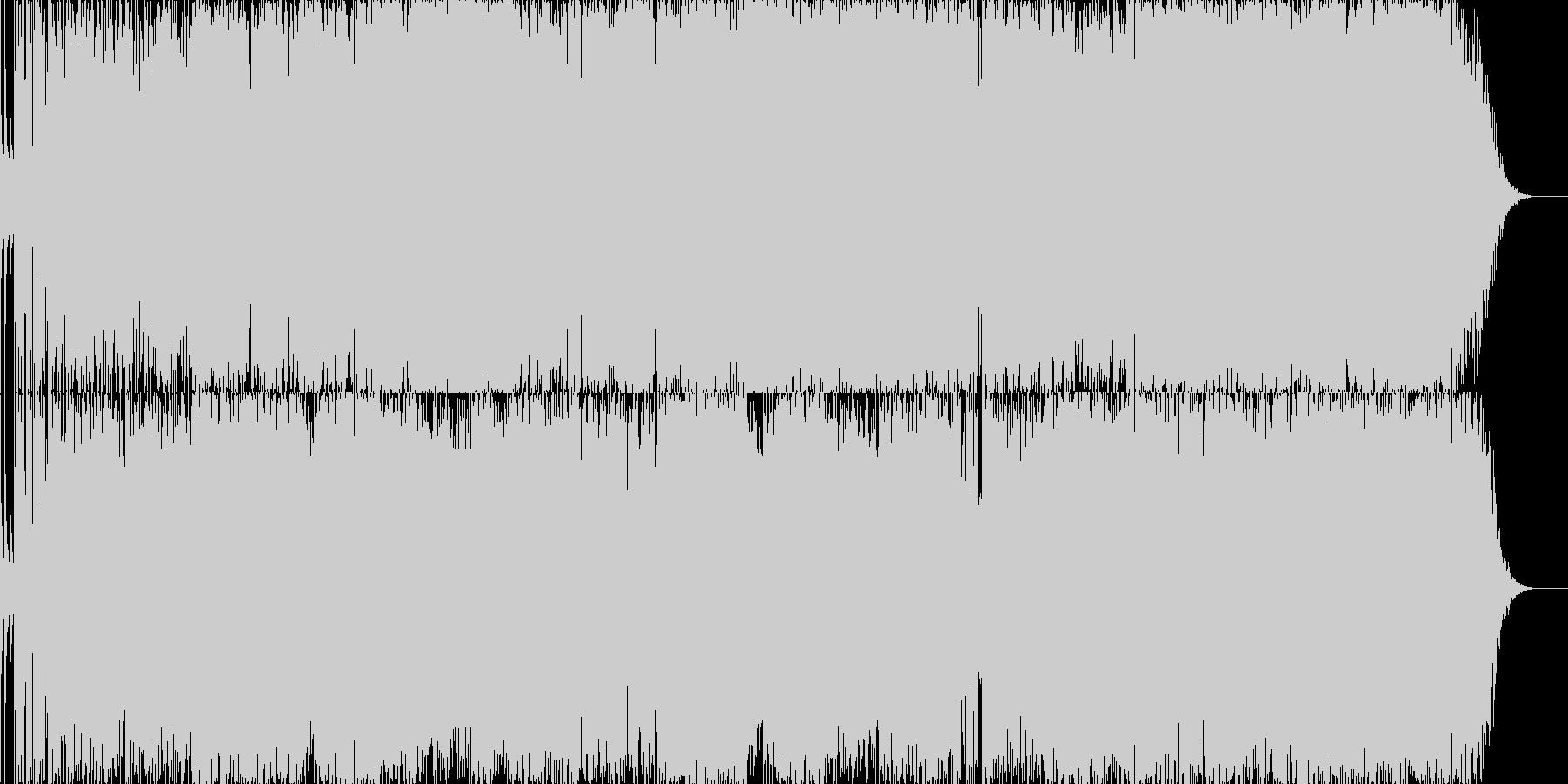 ロックエレクトロニック 技術的な ...の未再生の波形
