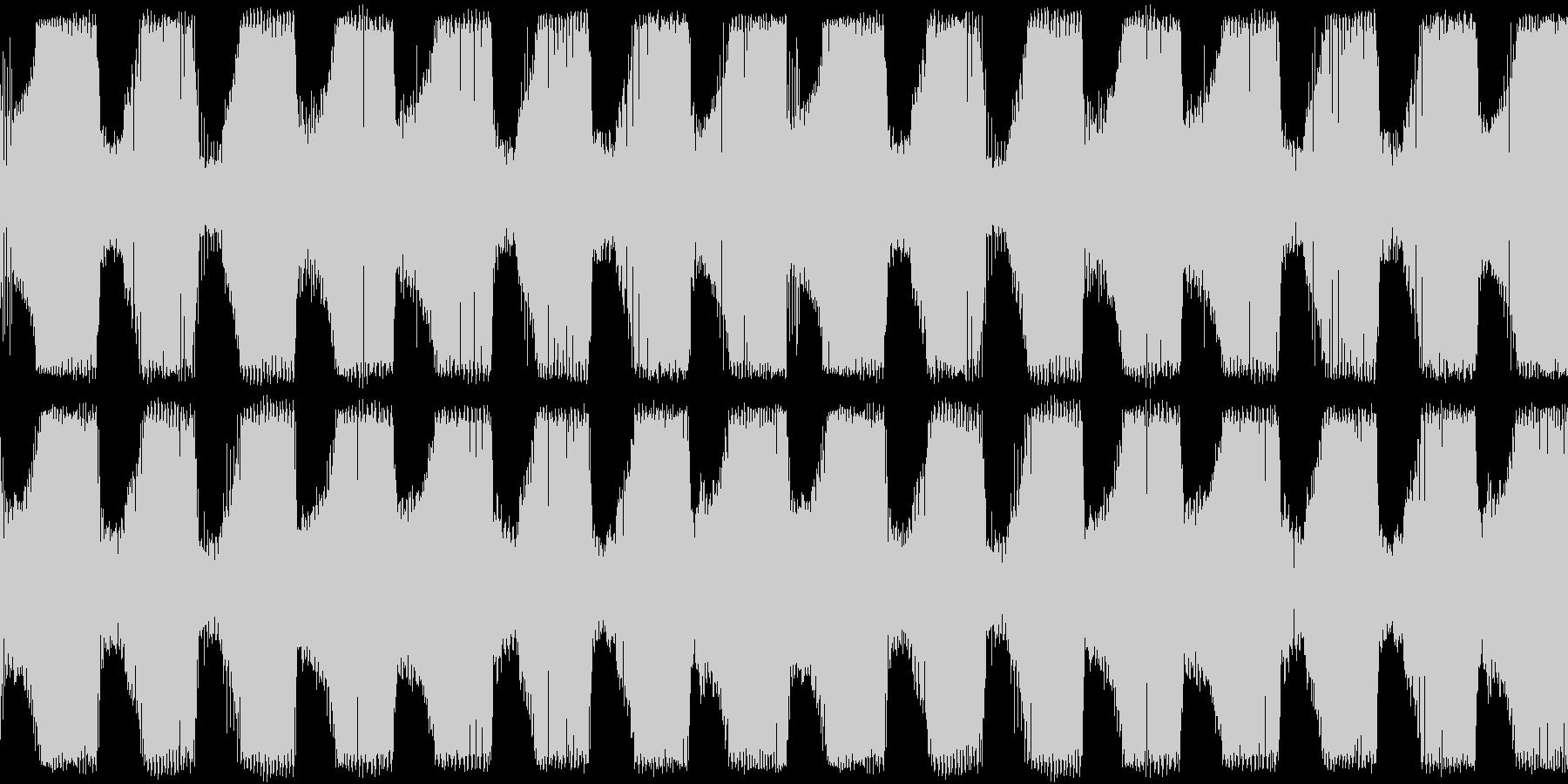 EDM ラウドにうねるベース 音楽制作用の未再生の波形